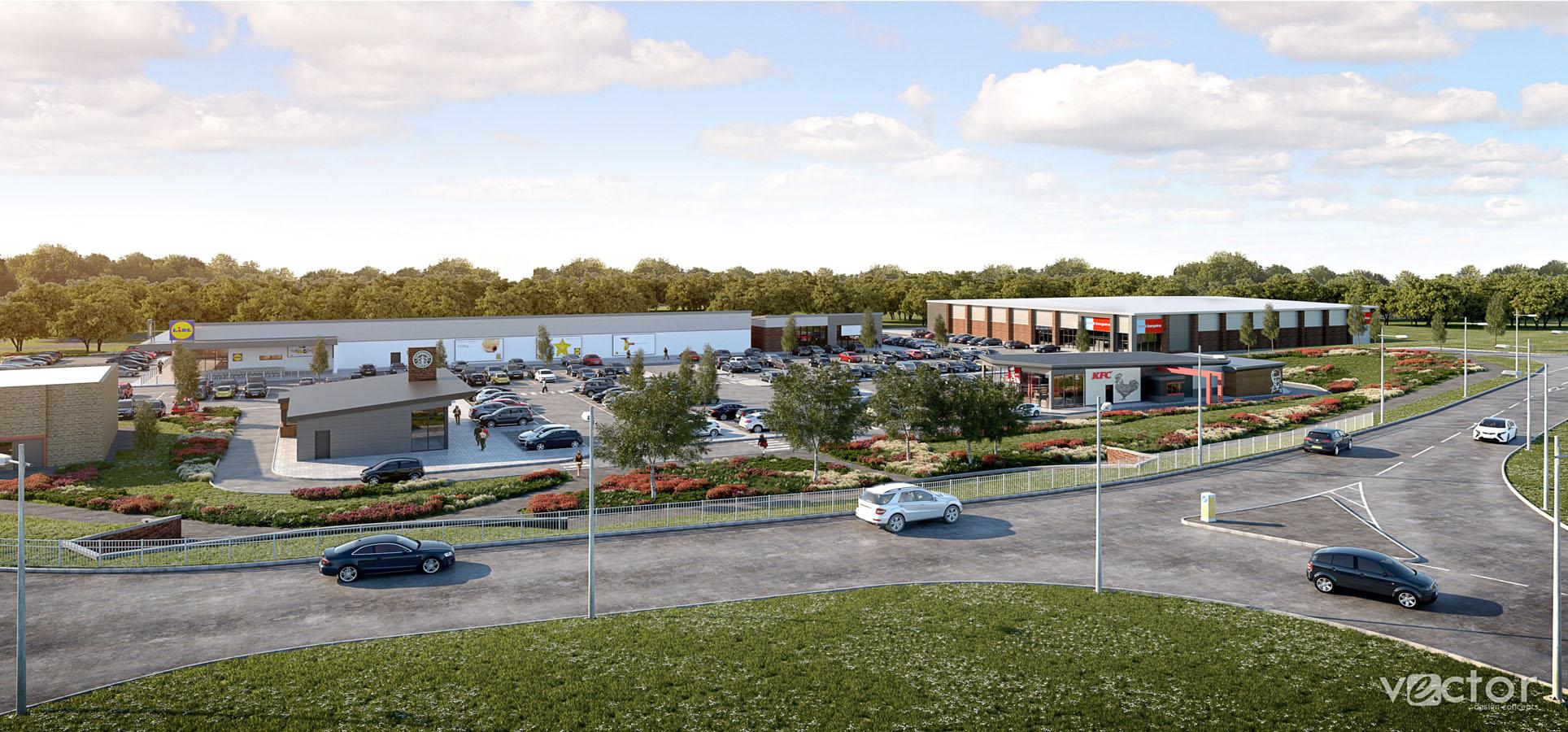 Work Starts on Retail Development in Peterlee, Jessops Construction Ltd