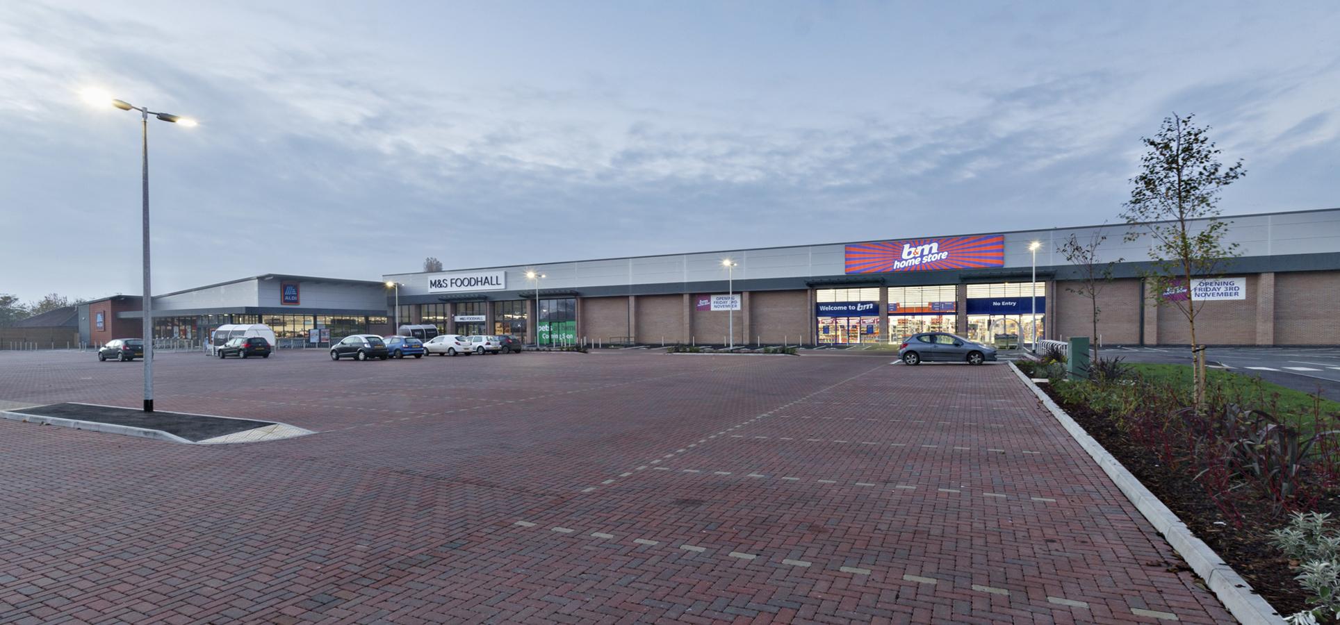 Retail Park, Skegness , Jessops Construction Ltd
