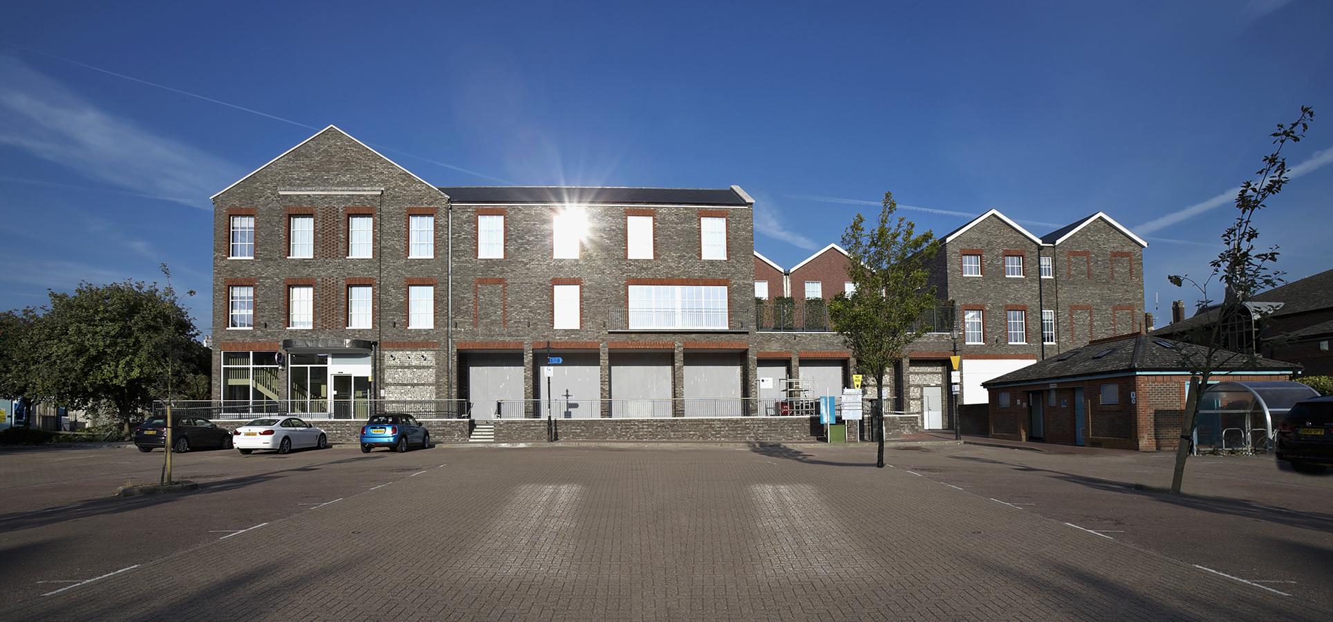 PREMIER INN & RETAIL UNITS, LEWES, Jessops Construction Ltd