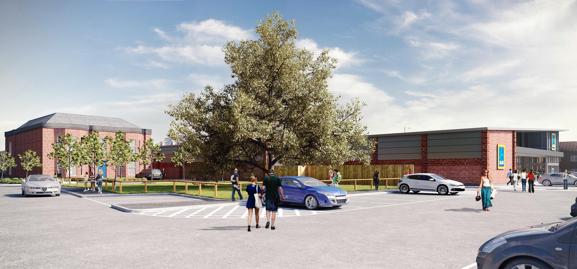 Jessops Secures Cottingham Aldi , Jessops Construction Ltd