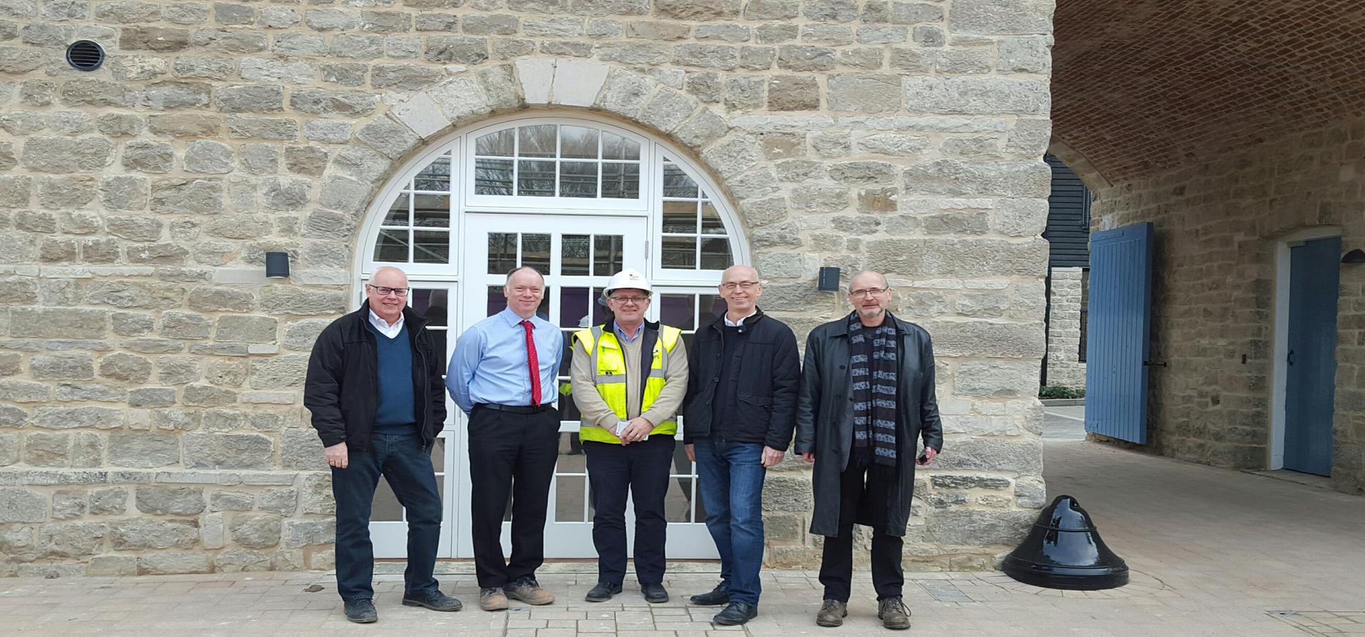 Mote Park Completes , Jessops Construction Ltd