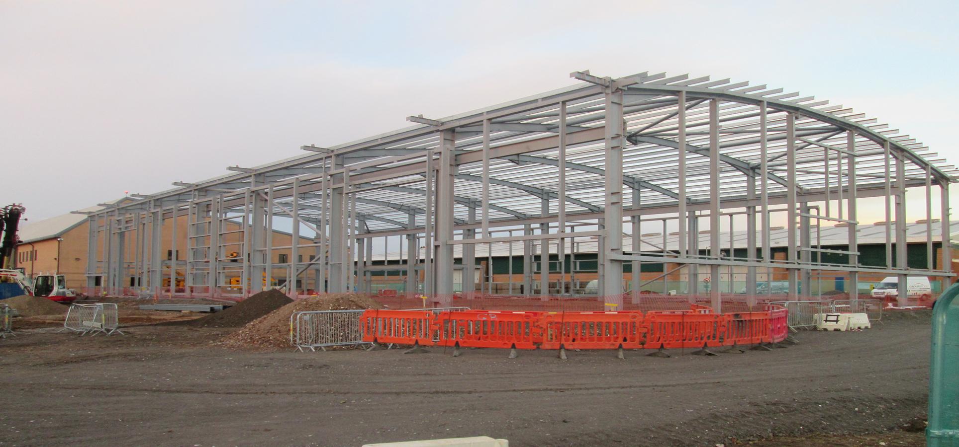 Wattisham Steels Complete, Jessops Construction Ltd