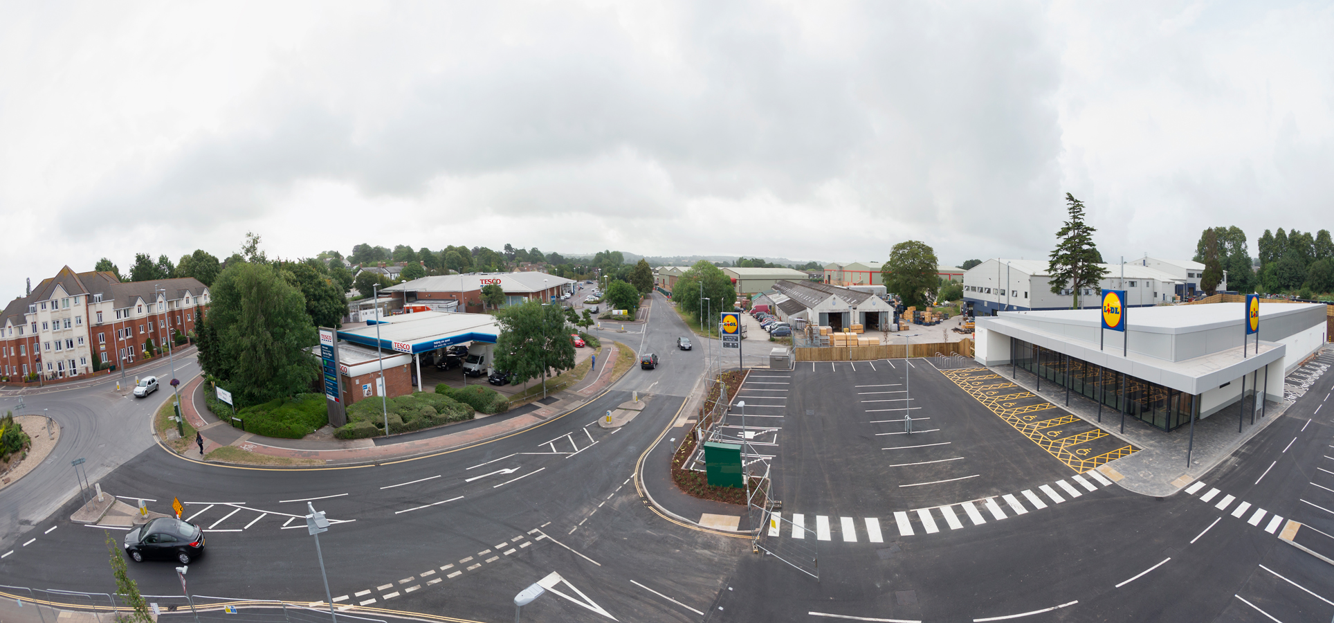 Lidl food store, Chard, Jessops Construction Ltd
