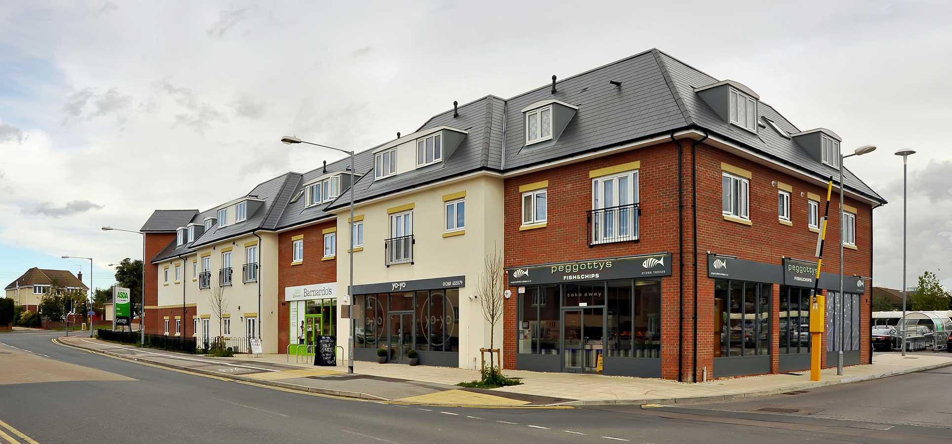 PROJECT CORAL/SANCTUARY HOUSING, Jessops Construction Ltd