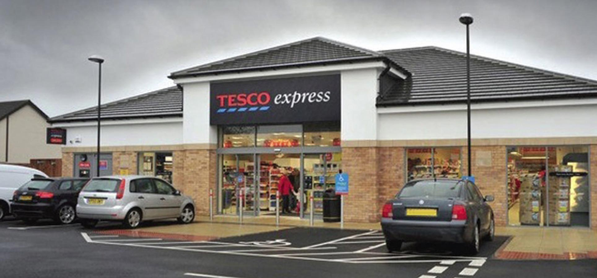 Tesco Express, Shepshed, Jessops Construction Ltd