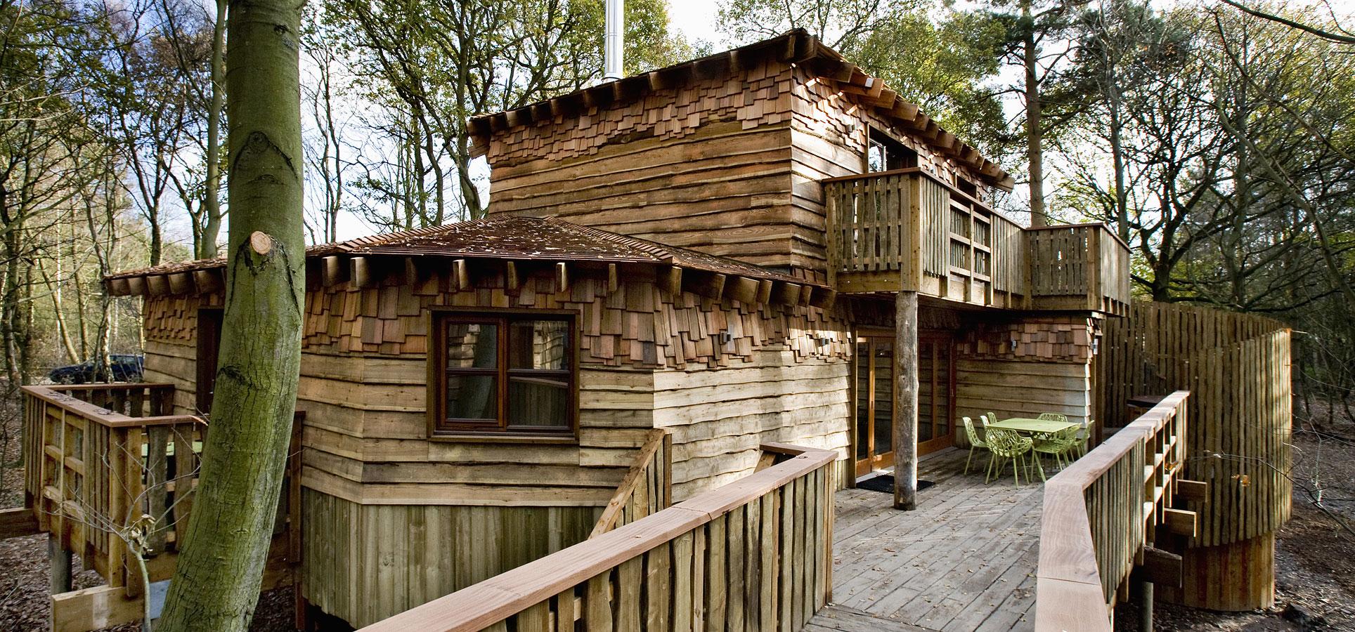 Project Eagle, Treehouses, Jessops Construction Ltd