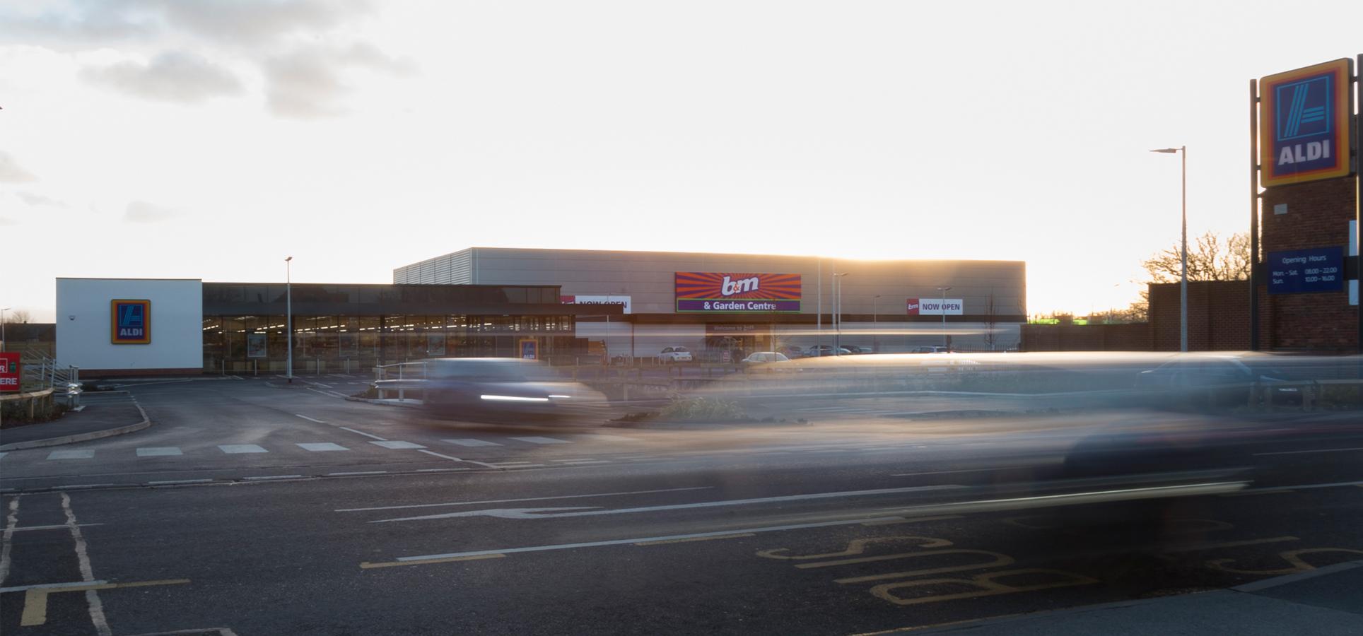 Retail Park, Featherstone, Jessops Construction Ltd